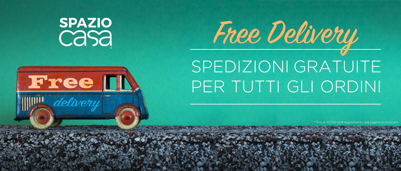 Free Delivery - Spedizione gratis su tutti gli ordini